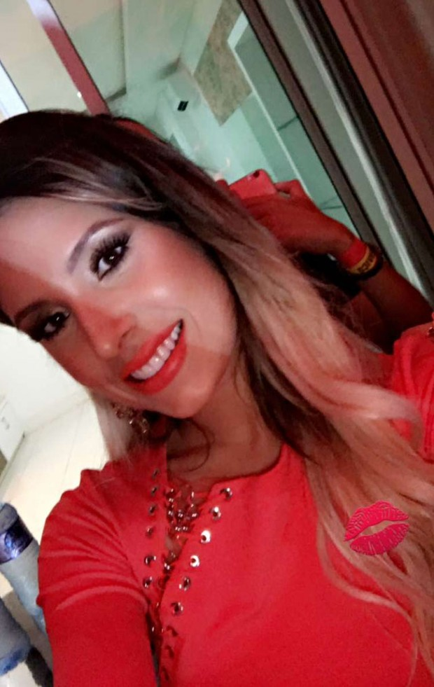 Thyane Dantas, mulher de Wesley Safadão (Foto: Reprodução/Snapchat)