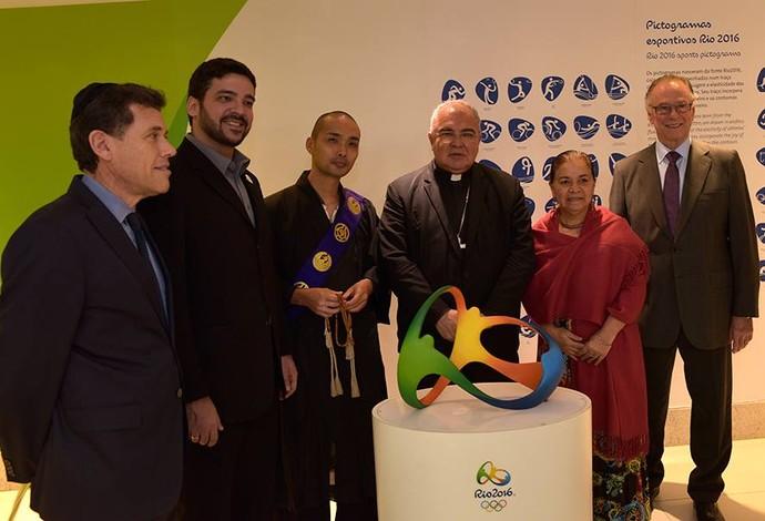 Inauguração centro inter-religioso Vila dos Atletas Rio 2016 (Foto: Arquidiocese do Rio/Divulgação)