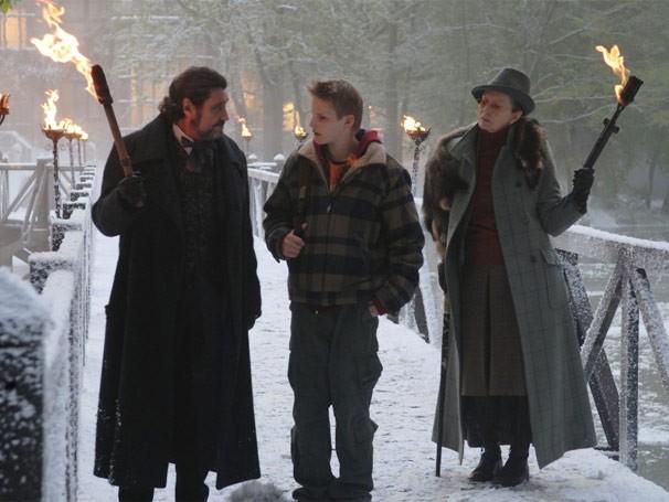 Will conta com a ajuda do rei Arthur Pendragon e outros enviados para achar os signos (Foto: Divulgação / Reprodução)