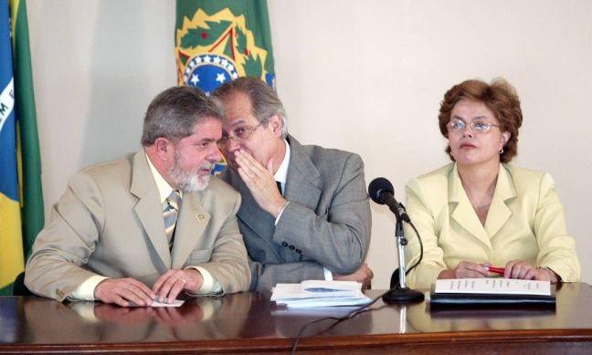 Lula, José Dirceu e Dilma Rousseff (Foto: Divulgação)