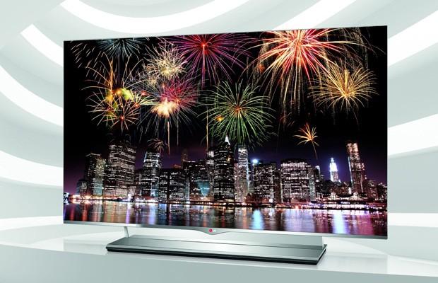 TV de Oled da LG, que possui tela superfina e imagem com alta nitidez e contraste (Foto: Foto: Divulgação)