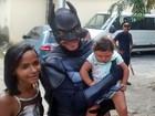 Crianças com microcefalia ganham festa especial em hospital do Recife