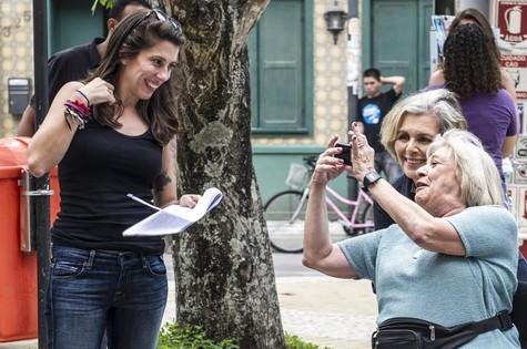 Bastidores de Malhação (Foto: Cynthia Salles/ TV Globo)