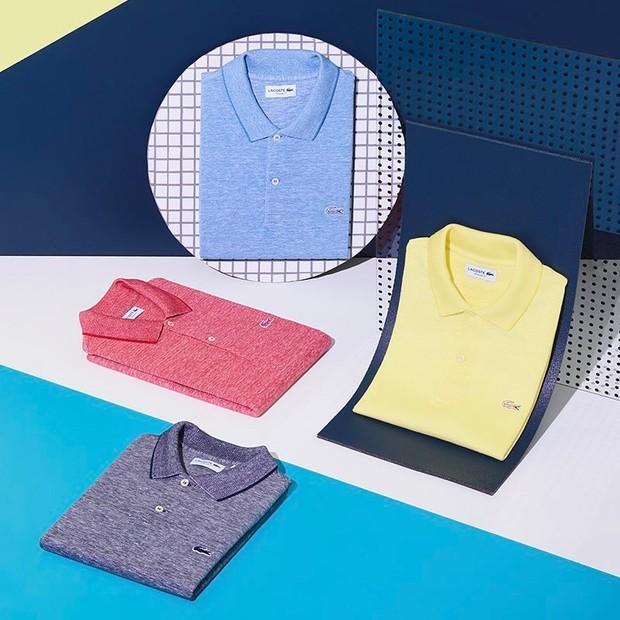 Camisas polo da Lacoste podem ser uma boa opção de presente (Foto: Divulgação)
