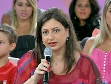 Tatiana Presser dá dicas para 'apimentar' o relacionamento (Foto: Encontro / TV Globo)