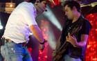 Fernando e Sorocaba utilizam efeitos especiais (Flavio Moraes/G1)
