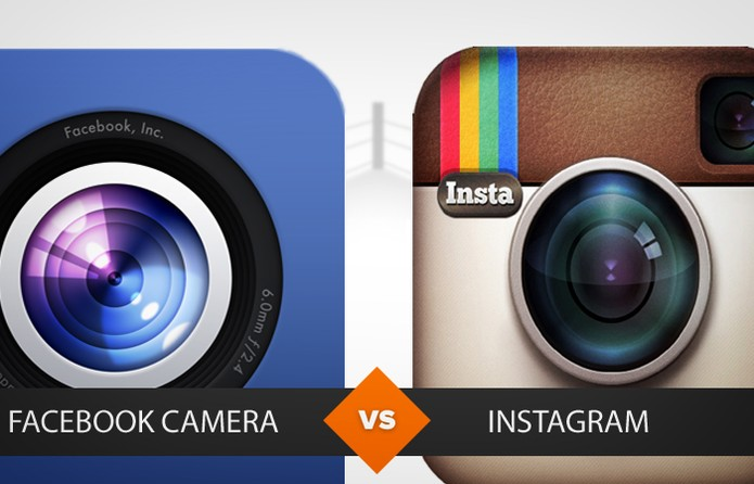 Facebook Camera x Instagram. Confira o vencedor no comparativo do TechTudo (Foto: Arte/TechTudo)