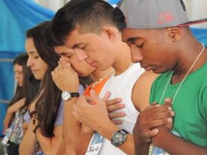 Além de orações e pregações evento conta com shows temáticos (Foto: RCC Diocese Divinópolis/Divulgação)