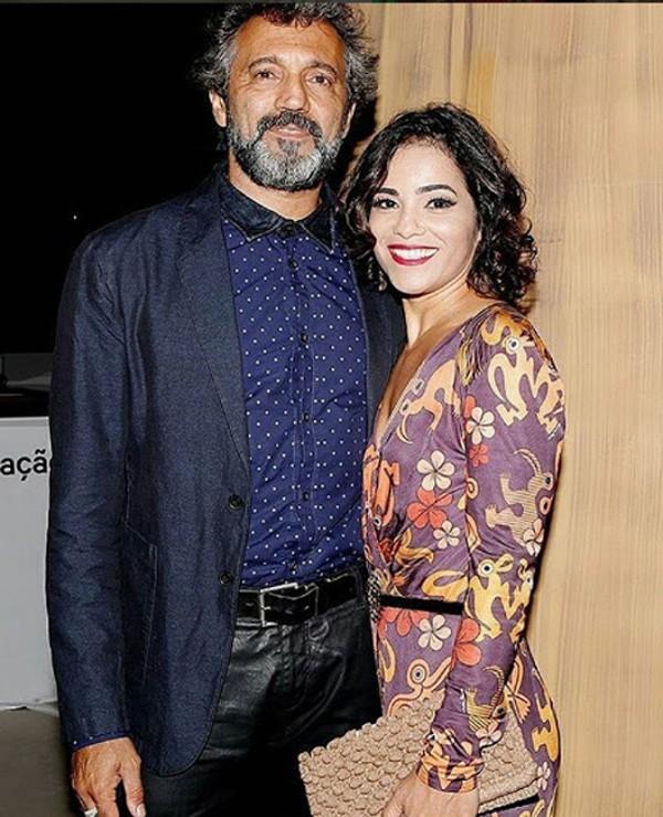 Rodrigo Montagner e a mulher Luciana Lima (Foto: Reprodução / Instagram)
