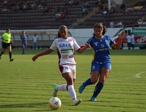 Nenê, jogadora do futebol feminino da Ferroviária (Foto: Assessoria Ferroviária)