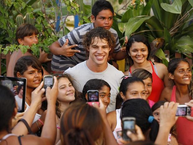 José Loreto fez sucesso com o píblico (Foto: Flor do Caribe/ TV Globo)