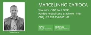 Ficha de Marcelinho Carioca  (Foto: Reprodução/TSE)