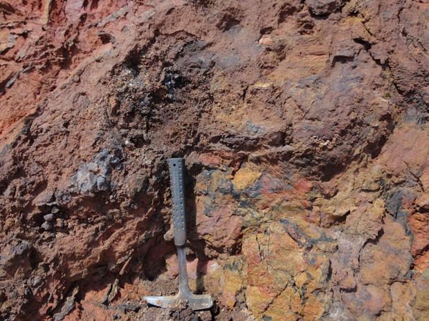 Nióbio é extraído a céu aberto na mina da Anglo American em Catalão (GO) (Foto: Divulgação)