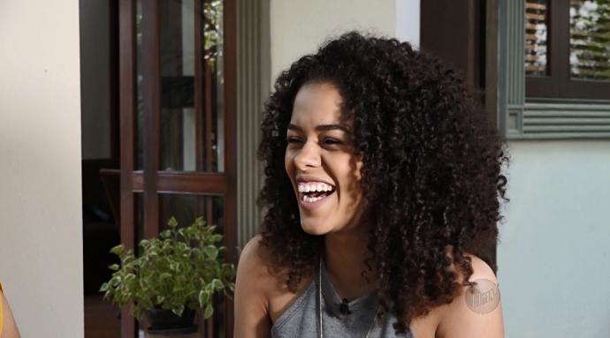 """A blogueira Rayza Nicácio afirma: """"Eu gostei, mas eu não tinha coragem de assumir que eu tinha gostado"""" (Foto: reprodução EPTV)"""