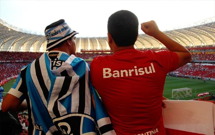 gre-nal torcida mista (Foto: Anderson Kbelo/Divulgação Inter)