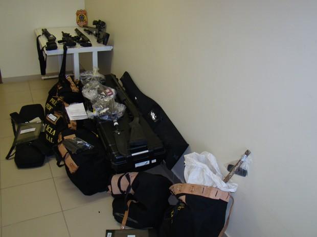 32 mandados de busca e apreensão foram expedidos pela justiça para a operação Hecatombe, da Polícia Federal, no RN (Foto: Divulgação/Polícia Federal)