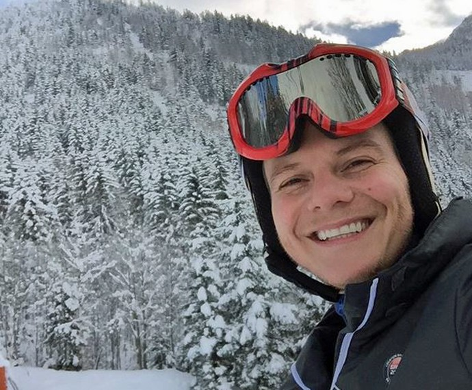 Esqui em Chamonix, na França (Foto: Arquivo Pessoal)