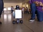 Estudante cria robô que ajuda na segurança e inibe cola em provas