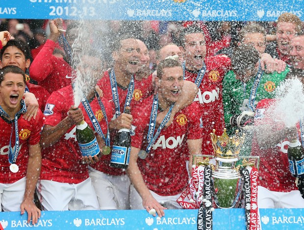 manchester united campeão inglês (Foto: Getty Images)