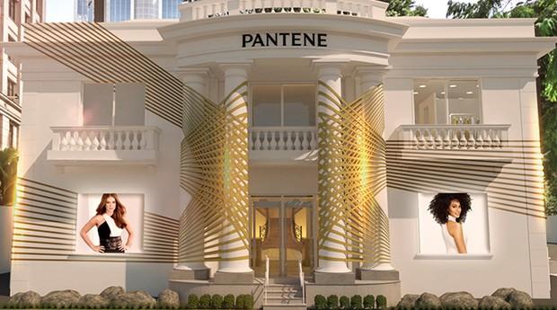 A Casa Pantene ficará aberta até 15 de agosto (Foto: Divulgação)