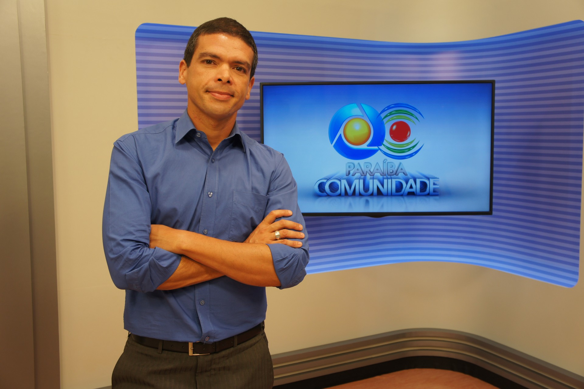 Hildebrando Neto no Paraíba Comunidade (Foto: Daniel Sousa/TV Cabo Branco)