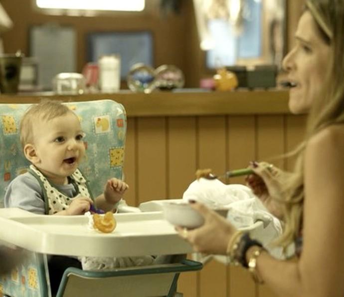 Marlene vira mãe em segunda temporada de 'Chapa Quente' (Foto: TV Globo)