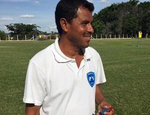 Luciano Baiano, técnico do Osvaldo Cruz (Foto: Mariane Kathiely / TV Fronteira)