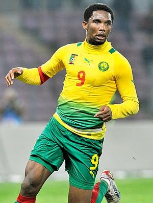 Samuel Eto'o jogo Camarões (Foto: AFP)