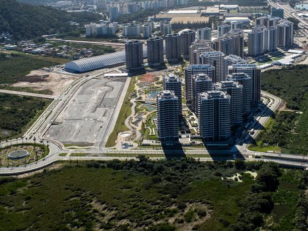 Vila dos Atletas da Rio 2016 será aberta neste domingo (24), levando á interdição da Avenida Olof Palme, na Barra da Tijuca (Foto: Divulgação/Miriam Jeske/Brasil2016.gov.br )