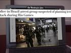 Prisão de supostos terroristas no Brasil repercute no exterior