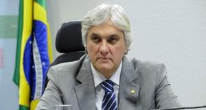 Senador Delcídio do Amaral é preso pela PF em Brasília (Ana Volpe/Agência Senado/Arquivo)