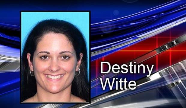 Witte Destiny foi acusada de manter relações sexuais com um garoto de 14 anos. (Foto: Reprodução/WTSP)