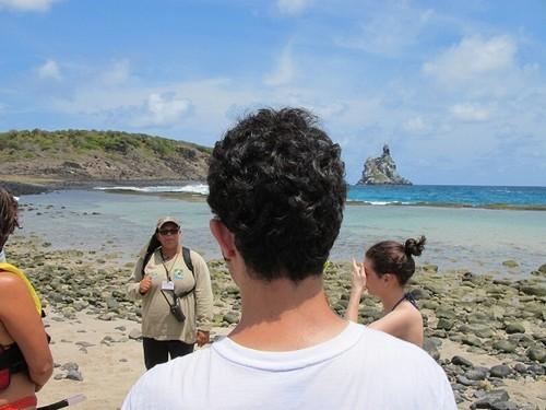 Foto (Foto: Guia explica últimos detalhes antes do mergulho na Praia do Atalaia)