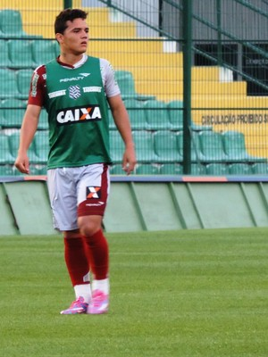 William Cordeiro Figueirense (Foto: Renan Koerich)