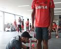 Fla descarta Conca e decide nesta quinta inscrição de Ederson no Carioca