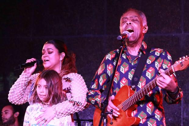 Preta e Gilberto Gil (Foto: Daniel Janssens)