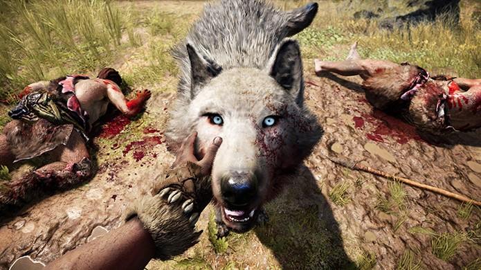 Far Cry Primal permitirá domesticar animais para lutarem ao seu lado (Foto: Divulgação/Ubisoft)