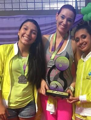 Meninas do Ceará conquistam medalhas na ginástica rítmica (Foto: Bárbara Agostini/Divulgação)