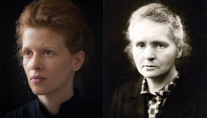Karolina Gruszka e Marie Curie (Foto: Divulgação)