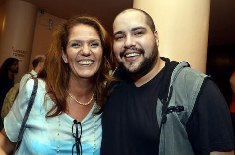 Patrícia Andrade e Tiago Abravanel (Foto: Cristina Granato)