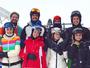 Marina Ruy Barbosa viaja para estação de esqui com o noivo