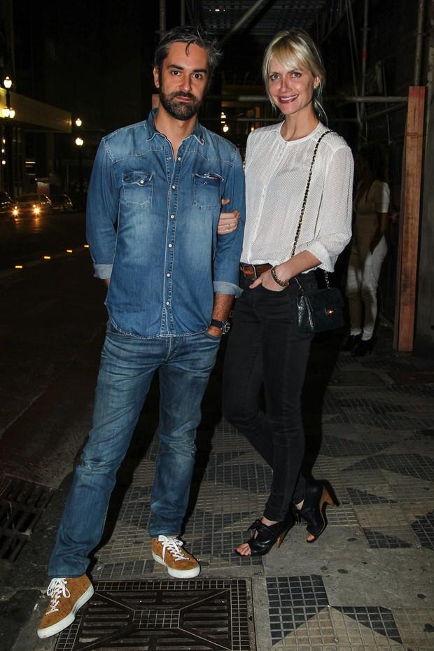 Ana Claudia Michels com o namorado Augusto de Arruda Botelho (Foto: Manuela Scarpa/Photo Rio News)