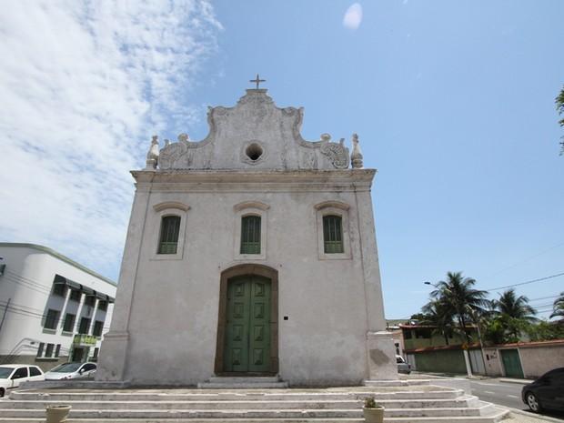 Igreja do Rosário, em Vila Velha (Foto:  Erica Piskac/ Governo do Espírito Santo)