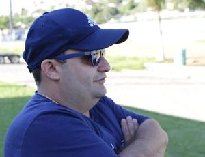 Pedrinho Tenório diretor de futebol CSA (Foto: Caio Lorena/ GloboEsporte.com)
