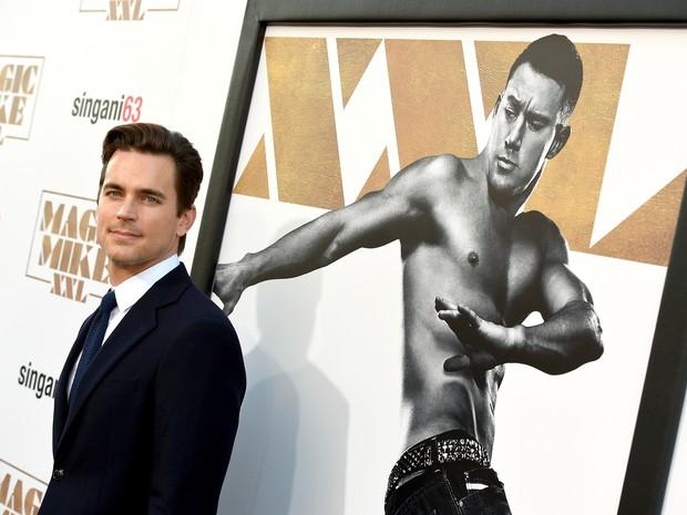 Matt Bomer em première de filme em Los Angeles, nos Estados Unidos (Foto: Kevin Winter/ Getty Images/ AFP)
