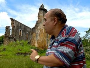 Historiador Clério José Borges contou que negros organizaram revolta (Foto: Reprodução/ TV Gazeta)