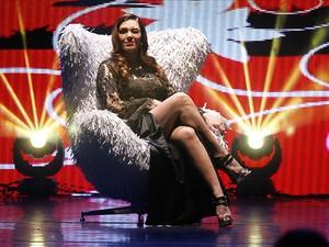 Simony em show em São Paulo (Foto: Amauri Nehn/ Foto Rio News)