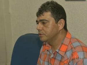 Roberlândio Aragão foi vítima de estelionato em site falso da Fifa (Foto: TV Verdes Mares/Reprodução)