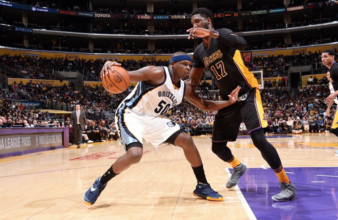 Zach Randolph Lakers x Grizzlies NBA (Foto: Getty)