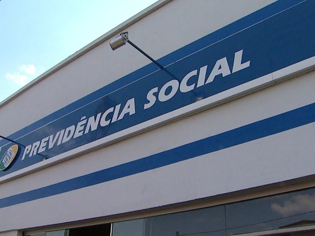 Atendimentos estão suspensos em agência do INSS nos Campos Elíseos (Foto: Reprodução/EPTV)